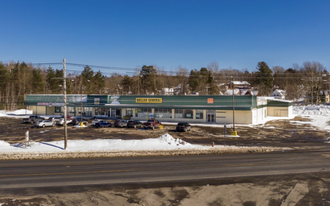 Tupper Lake Village Plaza – Ten-X Auction: May 3-5, 2021