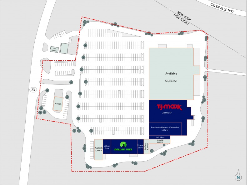58,893 SF – SPACE AVAILABLE FOR LEASE
